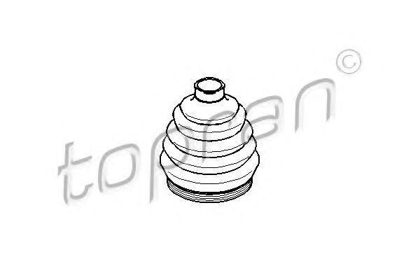Пыльник ШРУС HANS PRIES/TOPRAN 109253