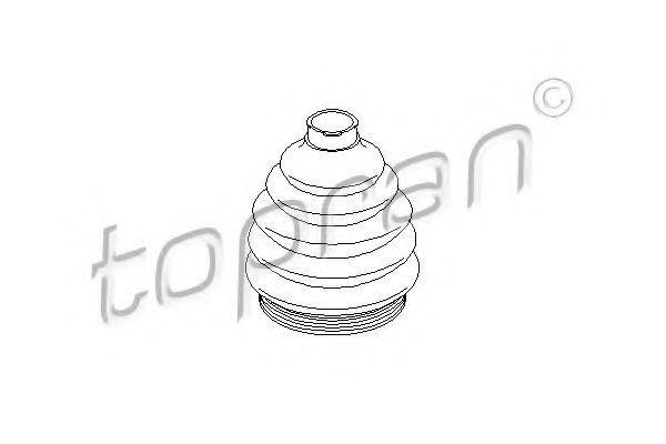 Пыльник ШРУС HANS PRIES/TOPRAN 103033