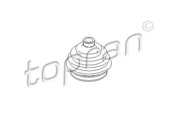 Пыльник ШРУС HANS PRIES/TOPRAN 103 392