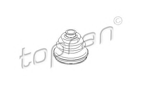 Пыльник ШРУС HANS PRIES/TOPRAN 103 661