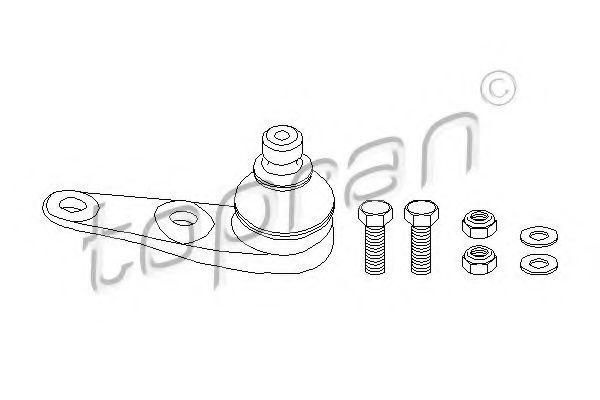 Опора двигателя HANS PRIES/TOPRAN 104185