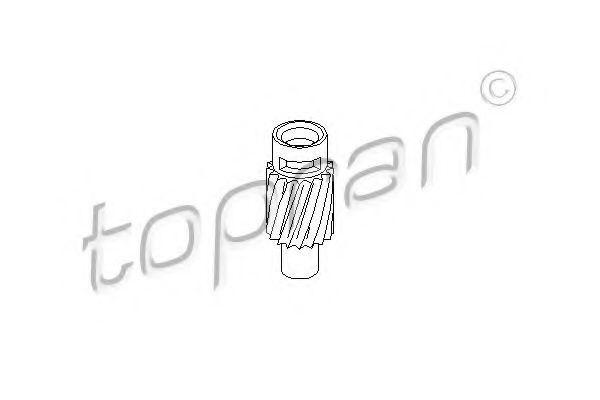 Привод спидометра HANS PRIES/TOPRAN 107 399
