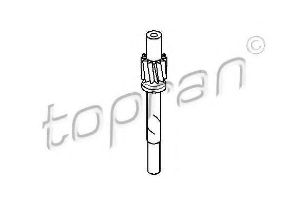Привод троса спидометра HANS PRIES/TOPRAN 107400