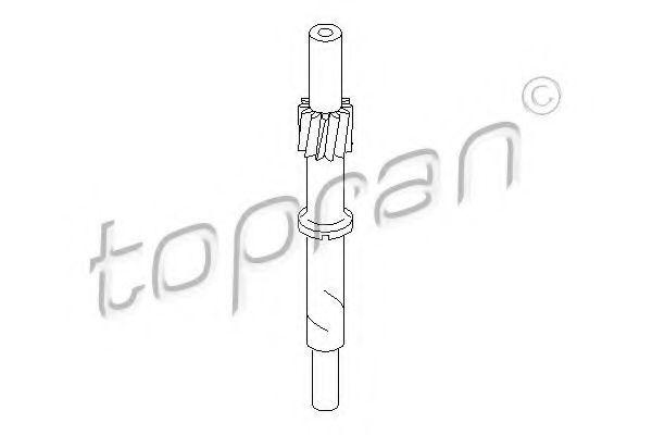 Шестерня спидометра HANS PRIES/TOPRAN 107 401