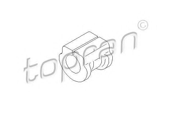 Втулка стабилизатора HANS PRIES/TOPRAN 109688