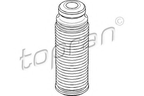 Пыльник амортизатора HANS PRIES/TOPRAN 111546