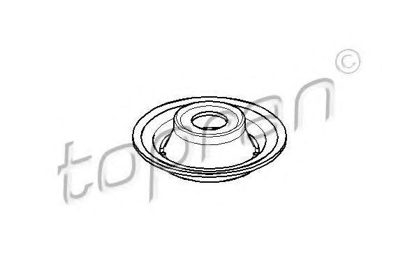 Тарелка пружины подвески HANS PRIES/TOPRAN 103492
