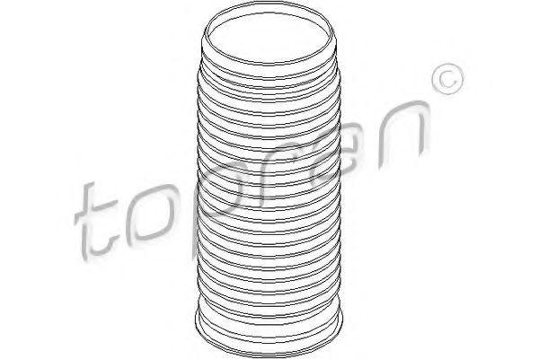 Пыльник амортизатора HANS PRIES/TOPRAN 110153