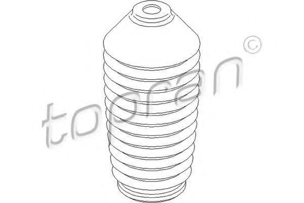 Пыльник амортизатора HANS PRIES/TOPRAN 107 642