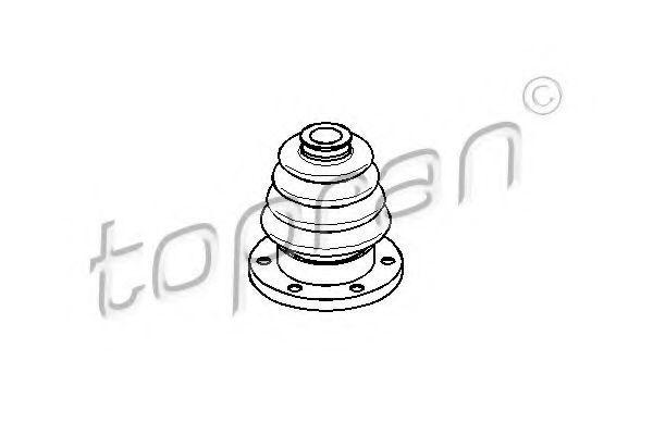 Пыльник ШРУС внутреннего HANS PRIES/TOPRAN 101952