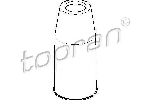Пыльник амортизатора HANS PRIES/TOPRAN 110527
