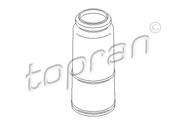 Пыльник заднего амортизатора HANS PRIES/TOPRAN 104159