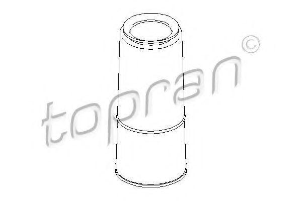 Пыльник амортизатора заднего HANS PRIES/TOPRAN 104 344