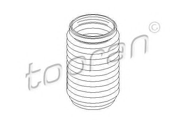 Пыльник амортизатора HANS PRIES/TOPRAN 111 744
