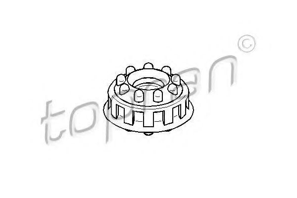 Опора амортизатора HANS PRIES/TOPRAN 107 093