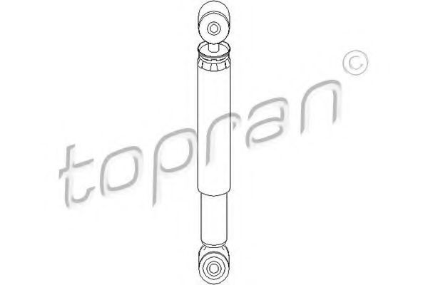 Амортизатор подвески HANS PRIES/TOPRAN 108378
