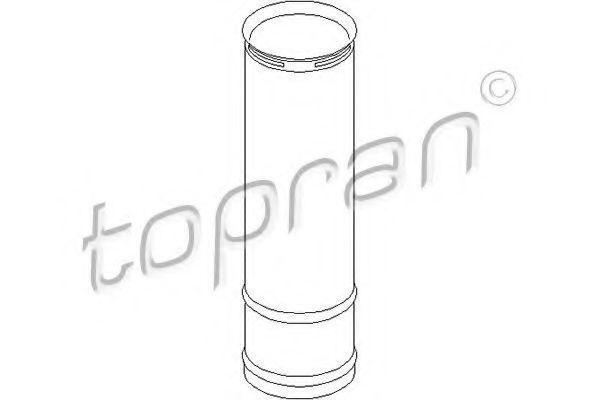 Пыльник заднего амортизатора HANS PRIES/TOPRAN 110906