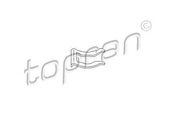 Кронштейн тормозного шланга HANS PRIES/TOPRAN 108716