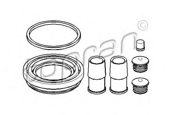 Ремкомплект переднего суппорта HANS PRIES/TOPRAN 108346