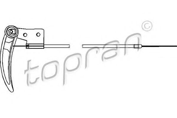 Трос замка капота HANS PRIES/TOPRAN 104 170