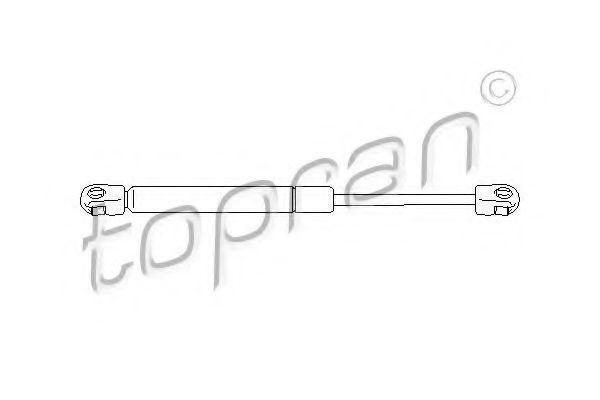 Амортизатор багажника HANS PRIES/TOPRAN 109 904