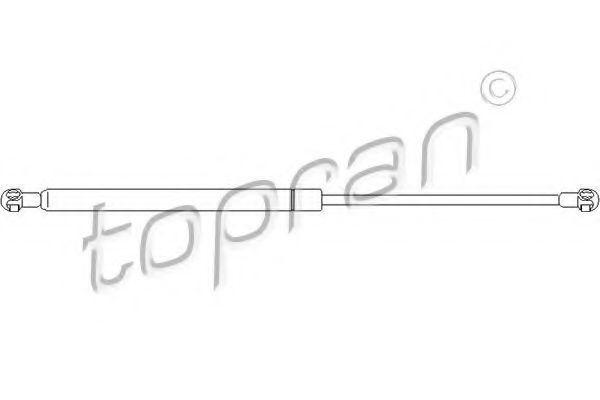 Амортизатор багажника HANS PRIES/TOPRAN 110 279