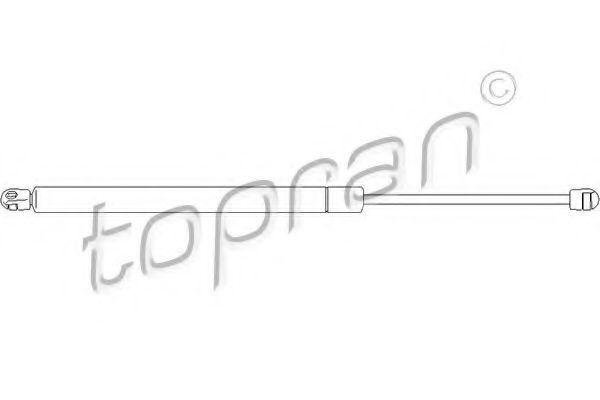 Амортизатор багажника HANS PRIES/TOPRAN 112 070