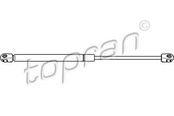 Амортизатор багажника HANS PRIES/TOPRAN 110 267