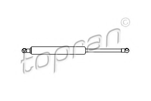 Амортизатор багажника HANS PRIES/TOPRAN 104355