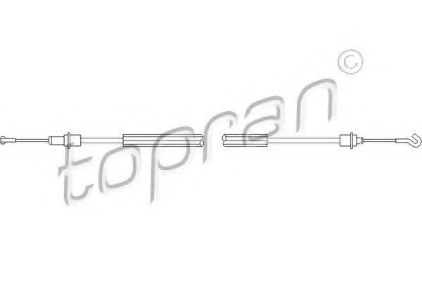 Купить Система управления ручки двери HANS PRIES/TOPRAN 109453