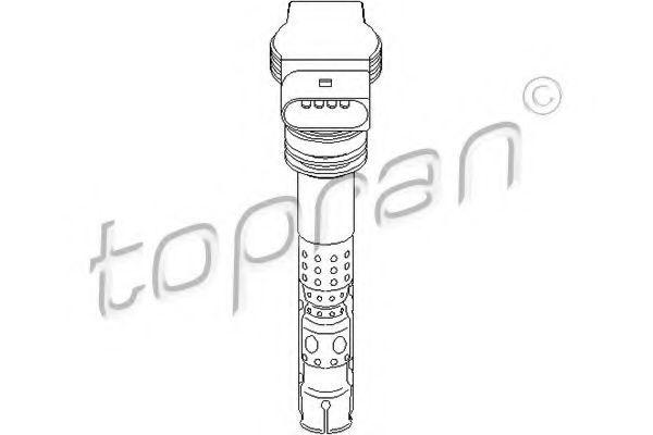 Катушка зажигания HANS PRIES/TOPRAN 109 541