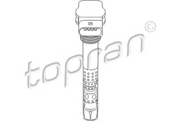 Катушка зажигания HANS PRIES/TOPRAN 110572