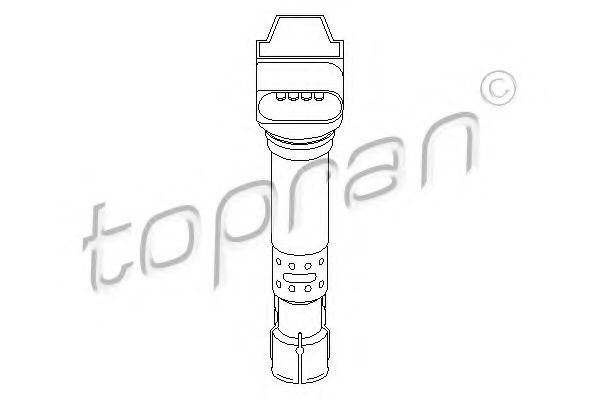 Катушка зажигания HANS PRIES/TOPRAN 109 039