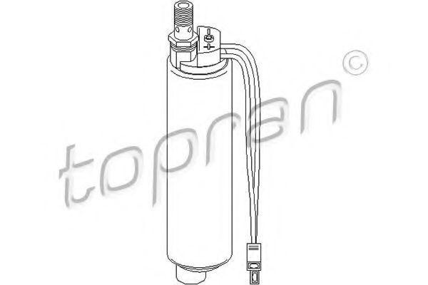 Насос топливный HANS PRIES/TOPRAN 108 576