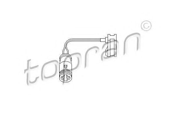 Датчик износа тормозных колодок HANS PRIES/TOPRAN 112 102