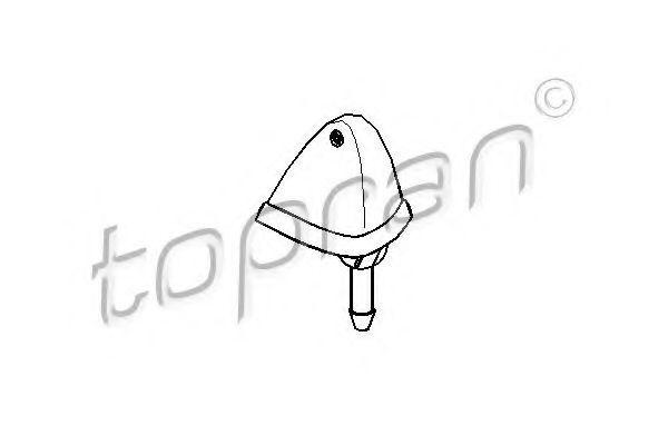 Форсунка стеклоомывателя HANS PRIES/TOPRAN 103 244