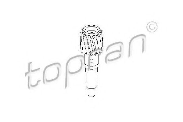 Шестерня спидометра HANS PRIES/TOPRAN 102 689