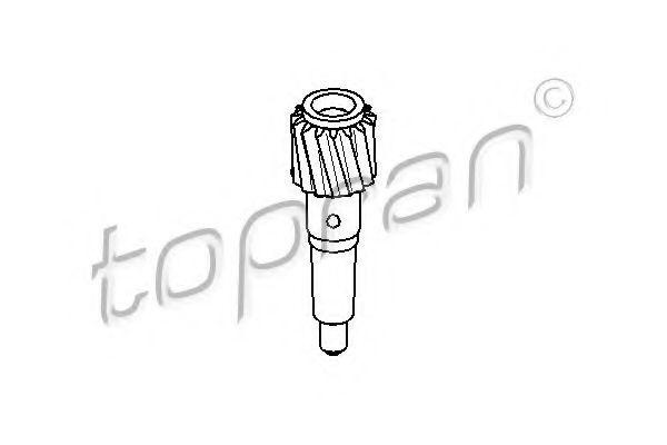 Шестерня спидометра HANS PRIES/TOPRAN 102 690
