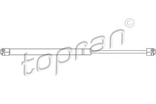 Амортизатор багажника HANS PRIES/TOPRAN 206 975