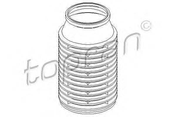 Пыльник амортизатора HANS PRIES/TOPRAN 200 431