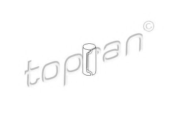 Гильза поперечного рычага подвески HANS PRIES/TOPRAN 200 509