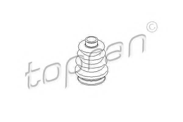 Пыльник ШРУС HANS PRIES/TOPRAN 200516