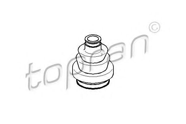 Пыльник ШРУС HANS PRIES/TOPRAN 205482