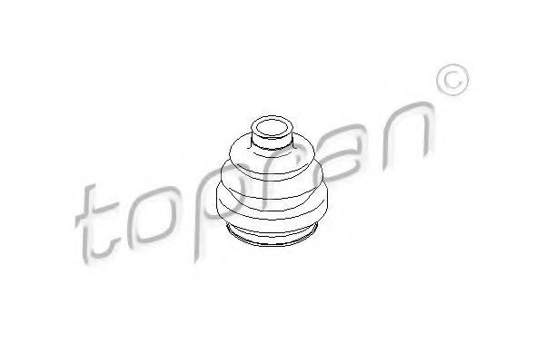 Пыльник ШРУС HANS PRIES/TOPRAN 200760