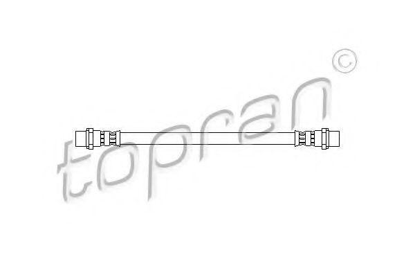 Шланг тормозной задний HANS PRIES/TOPRAN 206 494