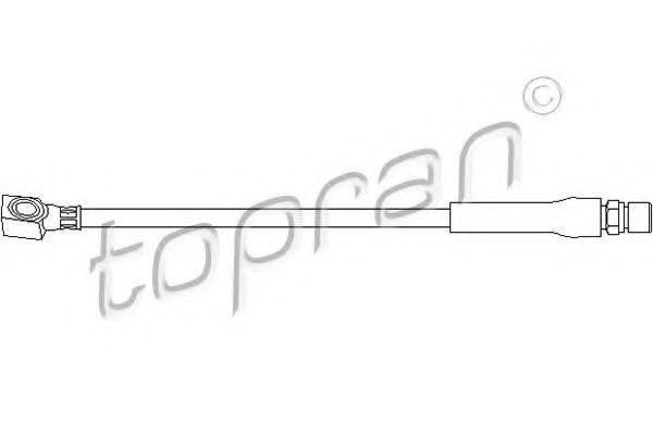 Шланг тормозной передний HANS PRIES/TOPRAN 200926