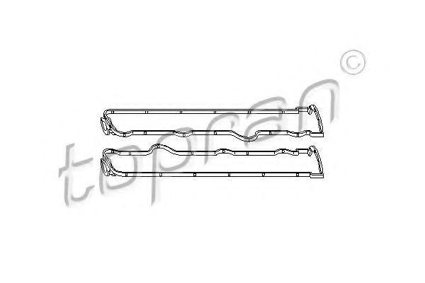 Прокладка клапанной крышки HANS PRIES/TOPRAN 205 530