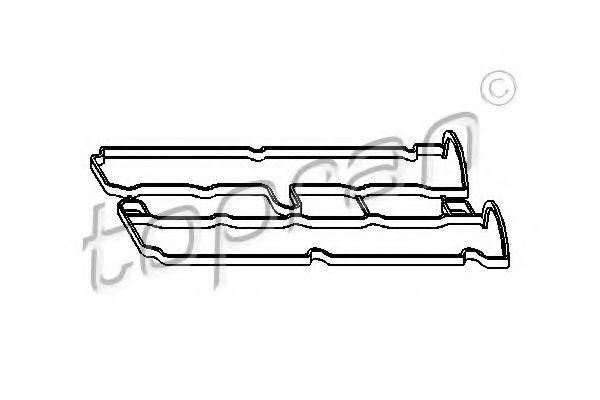 Прокладка клапанной крышки HANS PRIES/TOPRAN 206131