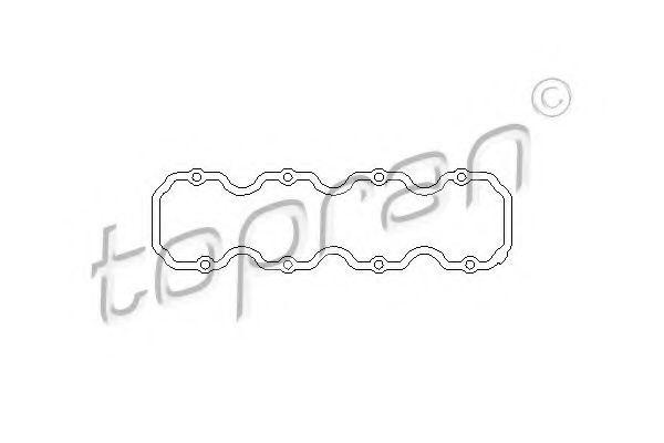 Прокладка клапанной крышки HANS PRIES/TOPRAN 201 220