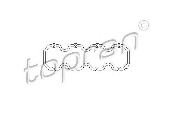Прокладка клапанной крышки HANS PRIES/TOPRAN 201 230